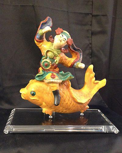 Custom Acrylic Base for Fish Figurine