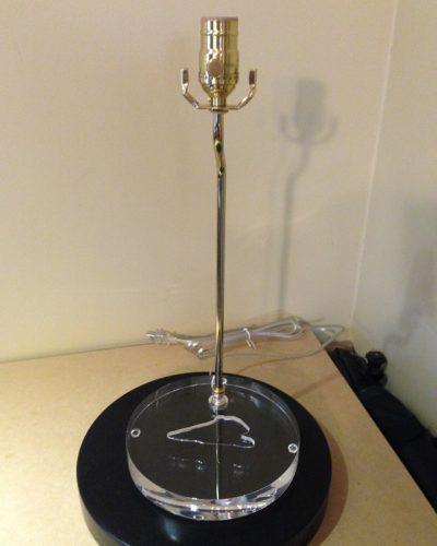 Custom Acrylic Inset Lamp Base for Jade Piece